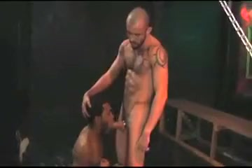 2 GUYS FUCK - NAN 40 something blowjob
