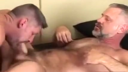 Passionate mature gay sex step anal bed wife