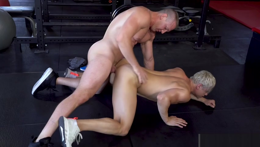 Beefy Trainer Cock Shows Student How To Take it like a Man unlikely swinger house party porn