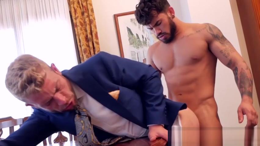 Elegant businessmen fucking after powerful blowjob Lulu aus jena free porn