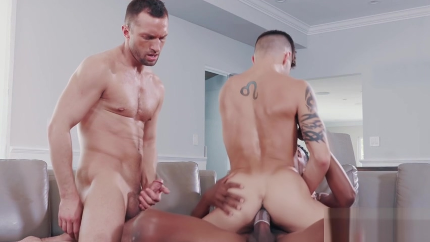 Afternoon Delight Gay Threesome of hot and handsome guys Wam sex orgy