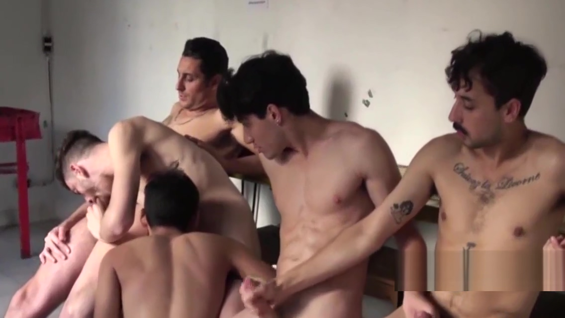 SOME LATIN MALE GANGBANG Compilation japanese fucking