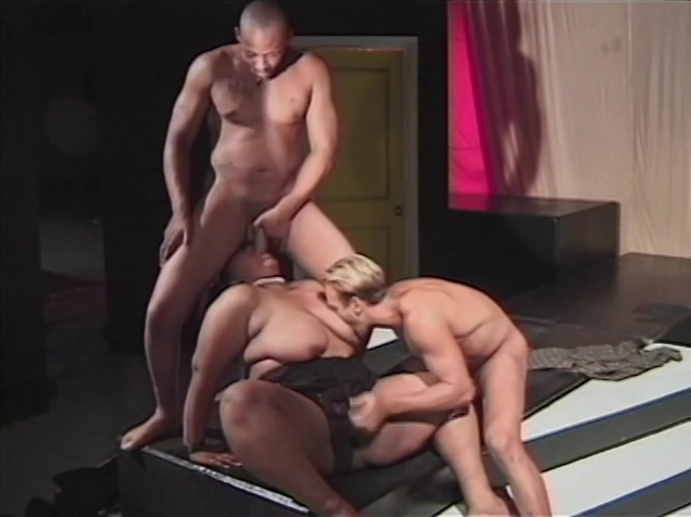 SSBW fucked on catwalk by two muscle guys Camille keaton nude pics