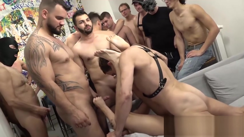 Young homos are having a raw bang party with mature guys Big booty in tiny shorts