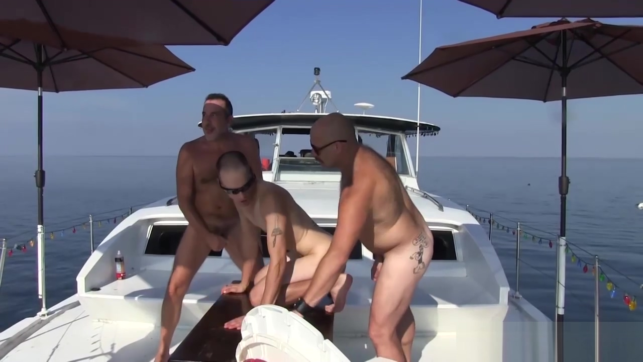 Gay Mature Off Shore Gang Bang Floating Sex Orgy Most identical twins