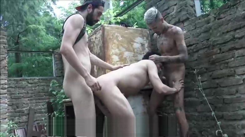 Three Hot Latino Twinks Fuck Outside In The Woods Ghetto tube galor