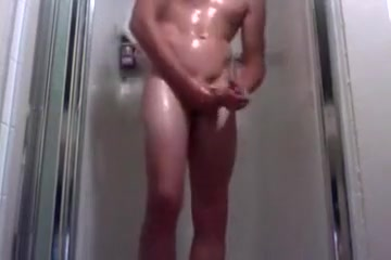 BIG COCK STROKER Three strippers play rough