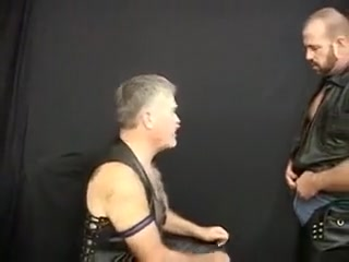 Leather Bears - W Clint Taylor and Glenn Bear Fabulous natural boobs nude