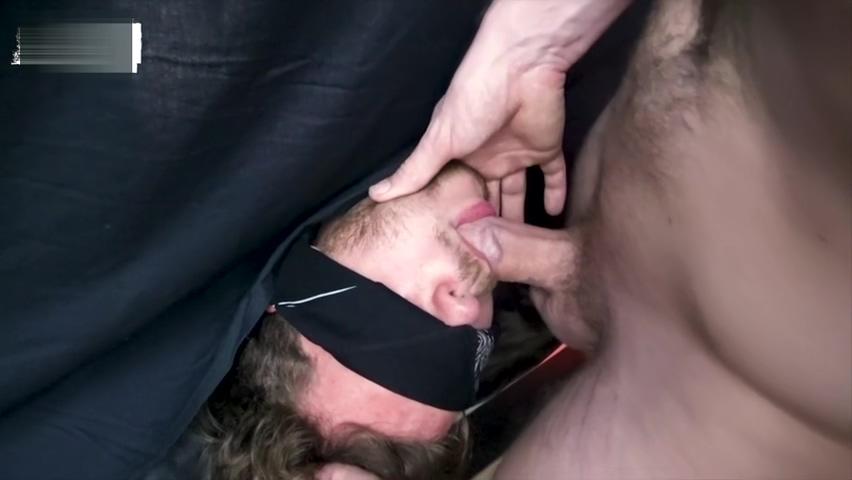 RawFuckBoys - Bearded muscle hunk face fucks blindfolded jock Tits aunty