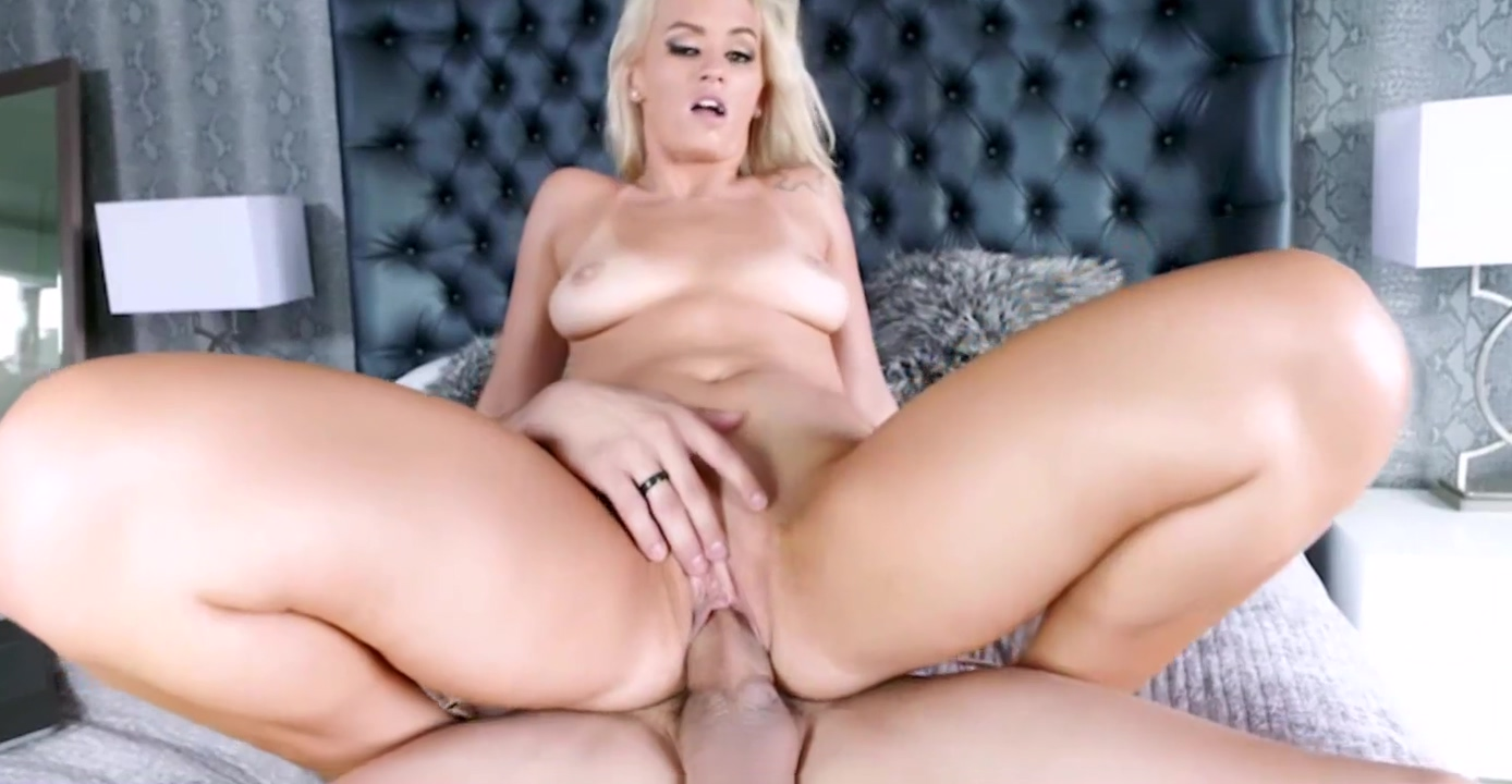 Hot Blonde MILF Fucked By Young Guy While Husband Watches On Laptop See through panties pussy lips
