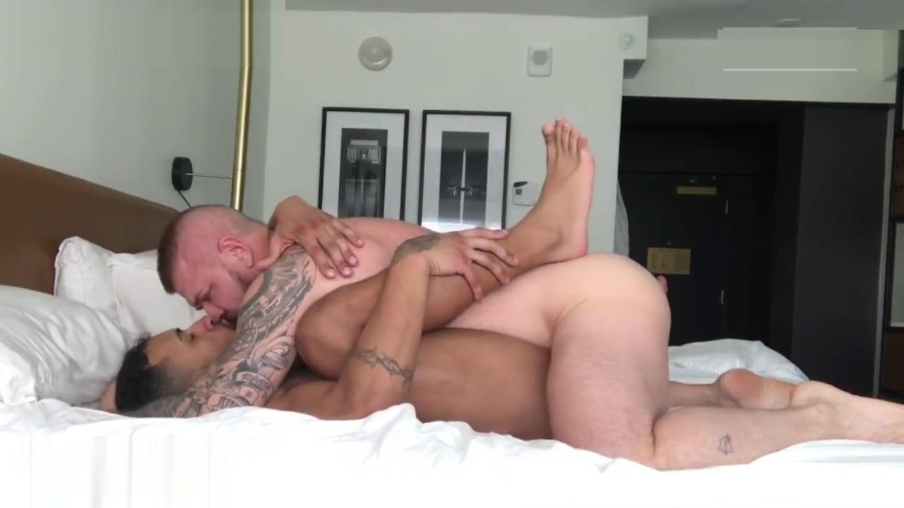 Jay Alexander + Rocco Steele African bikini porn photos