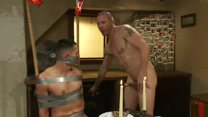 creepy janitor with straight boy Jada stevens gangbang