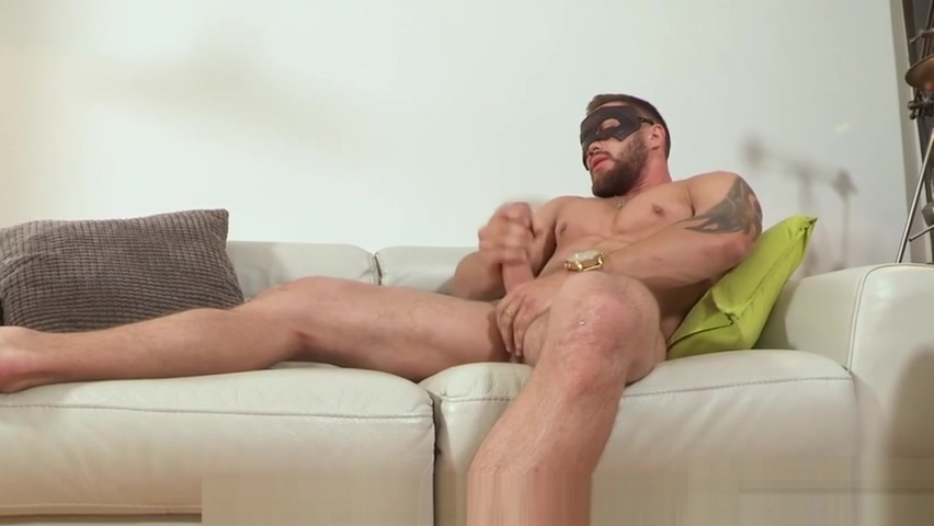 Muscled Guy Wanking and Cumming Hes Furious For His Fuck Doesnt Follow Orders