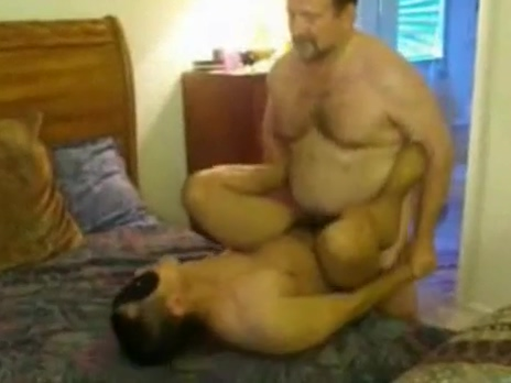 Daddy Fucks His Ass chubby ass santhiago out