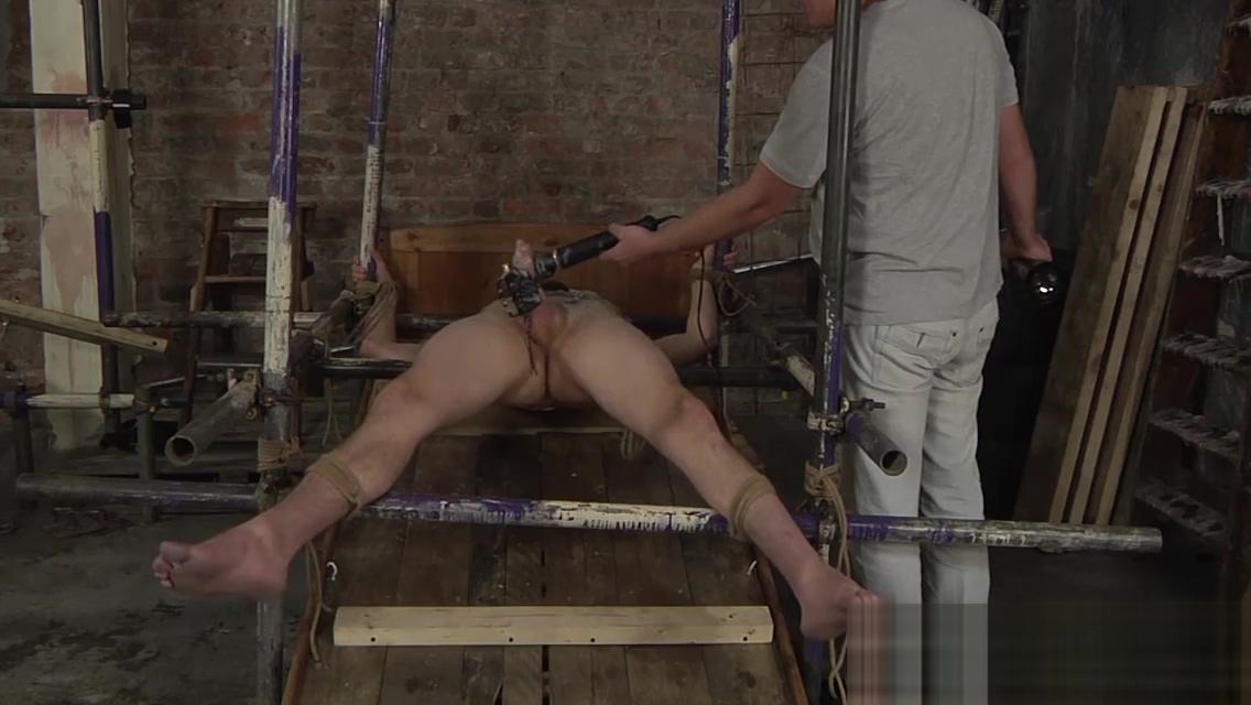 Sebastian Kane toying and waxing Eli Manuels big cock Hot British BBW Mature Wife
