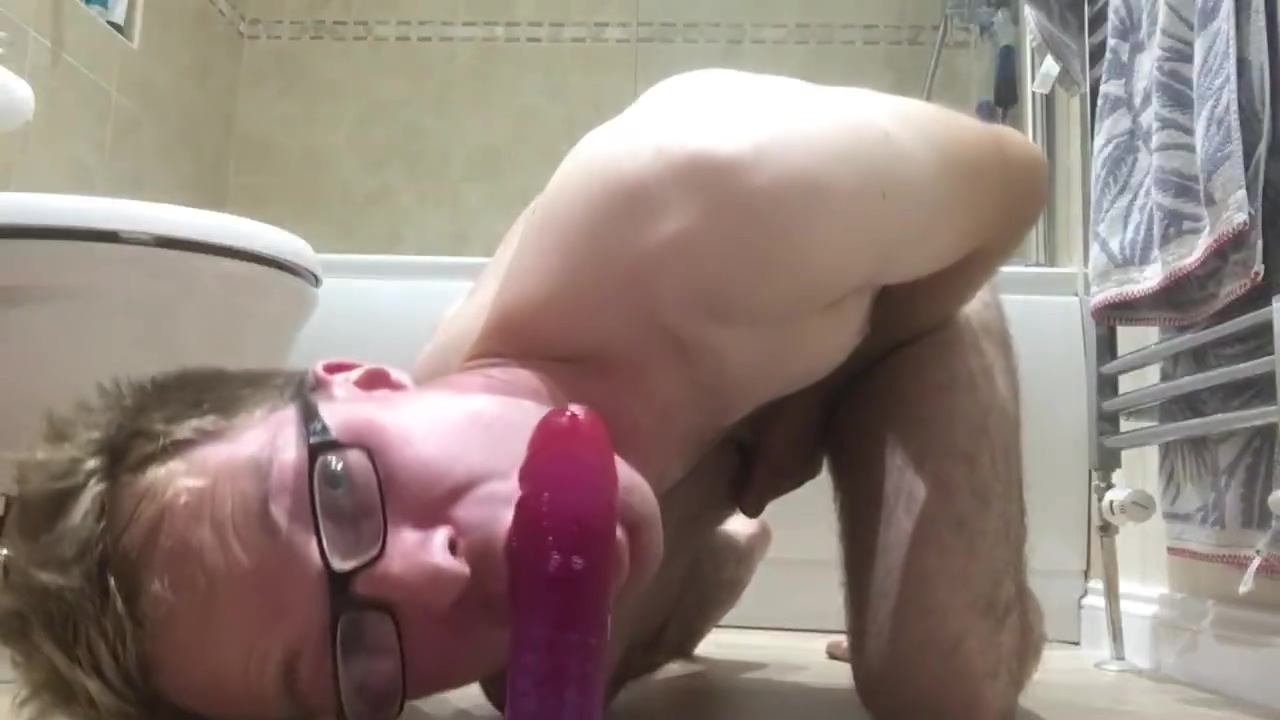 Riding dildo deep anal while fucking cock... lovely anal gape and cum ! red tube indonesian sex julia perez