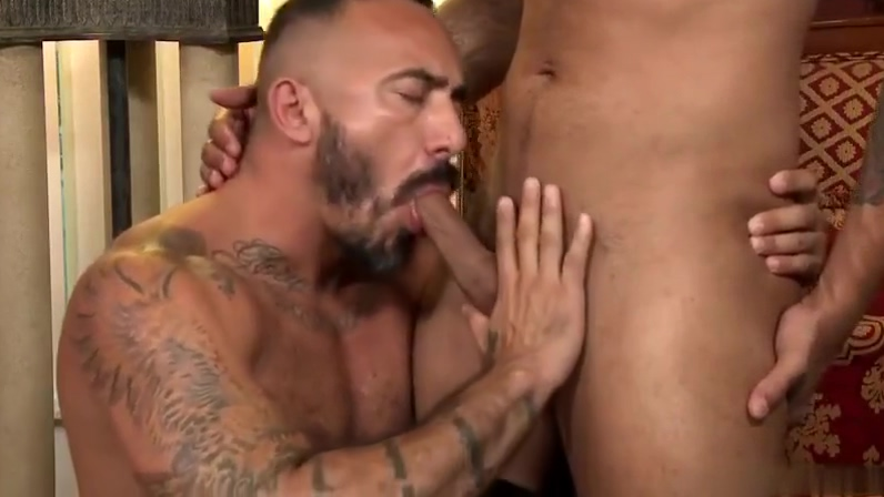 Alessio Romero and Rikk York pussy with hair on it