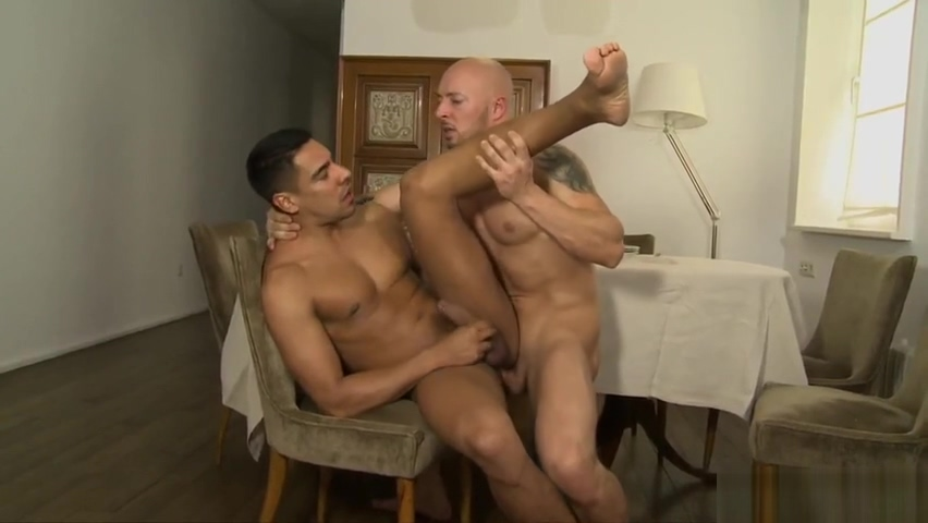 ATTILA KARDOS - SALVADOR MENDOZA - A FORMAL LUNCH - KB Sexy Lesbians Fingering One Lucky Bitch