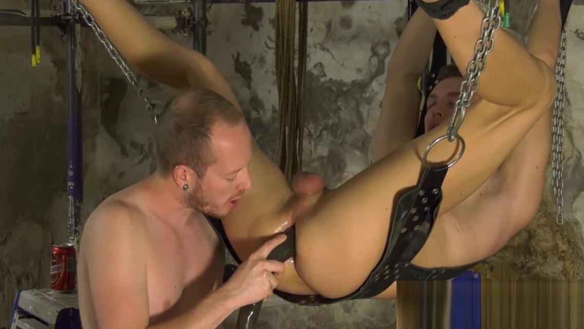 Rough deep anal penetration with roped twink Billy Rock old women hardcor sex