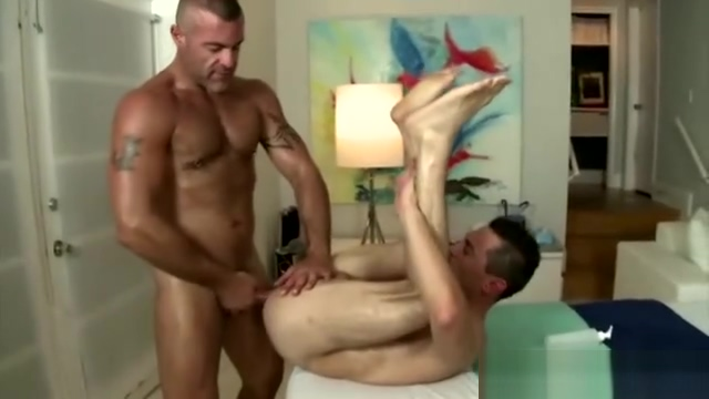 Gay mature masseur assfucks his straight client Hot latina wife naked