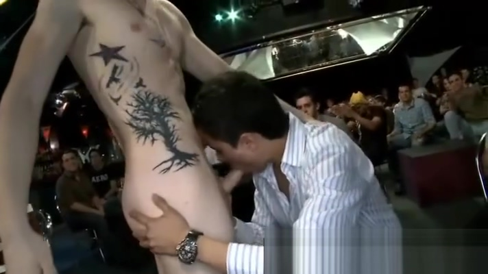 Gay strippers for the boys on men only party Big dick in nude beach