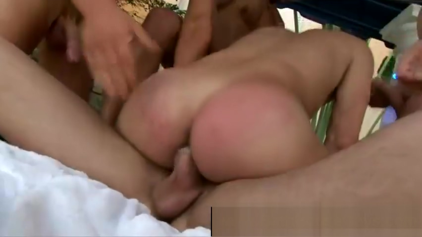 Round of gay blowjobs by the pool Cute boy jerking off