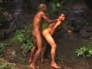 Brazilian men fucking outdoors really hot sex scene