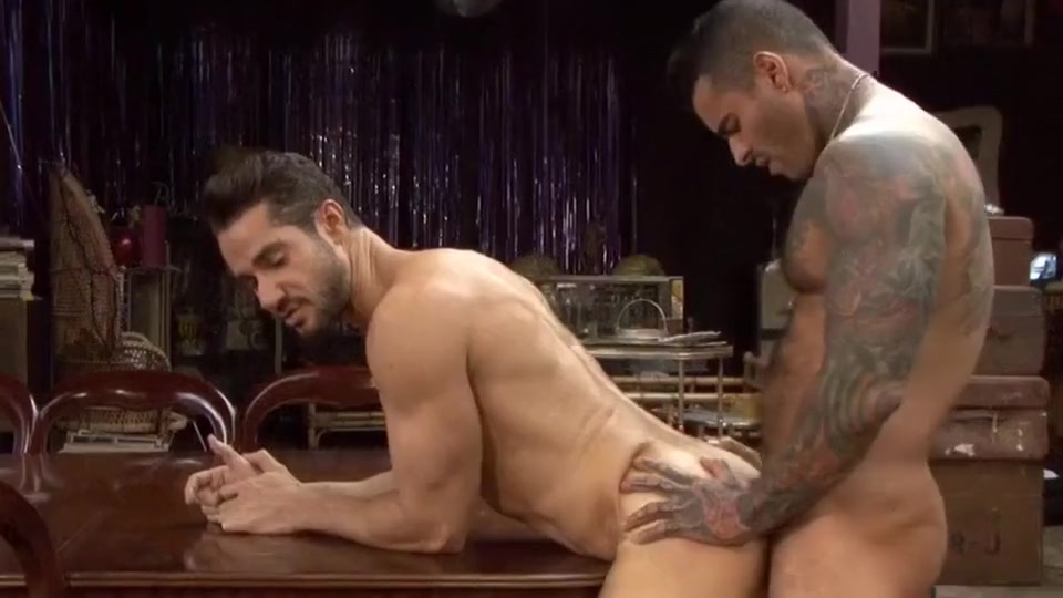 Show Me Your Ass! - Alexander Freitas and Dean Monroe hand on the ass