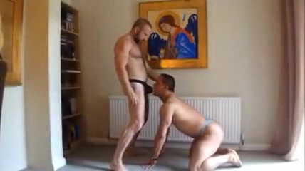 Amateur - Hot Muscle Couple rough sex and brutality