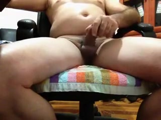 i playing with my cock swapping my cum with my wife