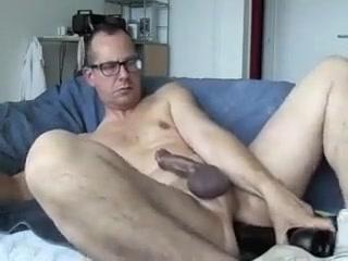 Medium dildo visits my ass. Andhra nude fucking girls