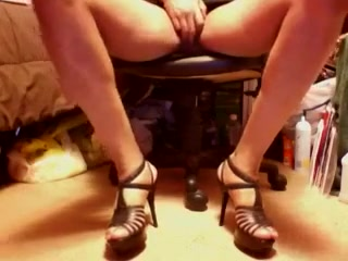 Playing in Black High Heel Strap sandals and upskirt Chearavanont wife sexual dysfunction