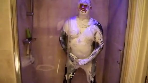 paint, wallpaper paste, lycra costume films porno de adriana lina