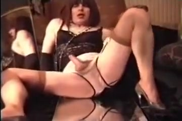jack off in nylons Great natural tits pictures