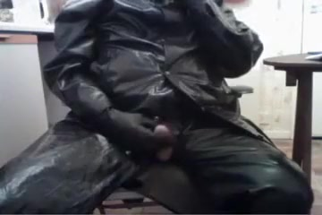 More cock play in my oilskins trouble swallowing sore throat