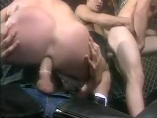 vintage leather orgy Little tiny tits cum