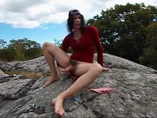 This transvestite girl has a hairy bush!!! boston pee wee sox