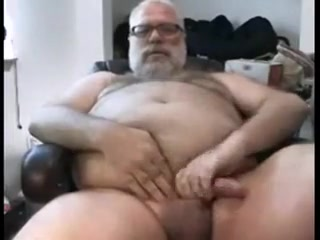 Papa Masturbates and Cums see my wifes saggy tits