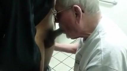 Silver grandpa suck black cock Domination Female Free