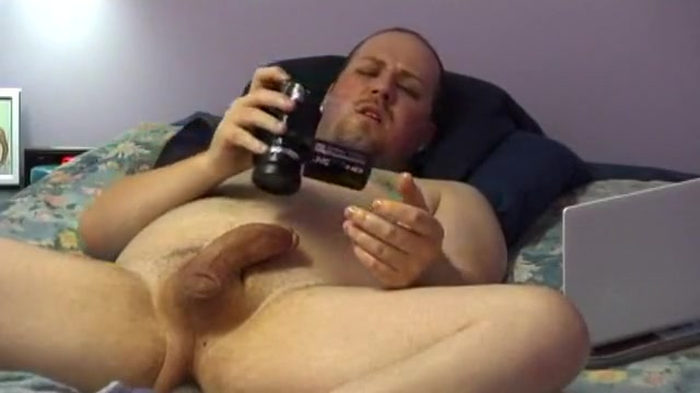 Filming his own jack session Pale pussy redhead