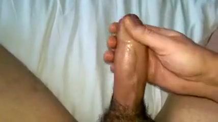 Thick uncut cock cum spurt how to masturbate fun